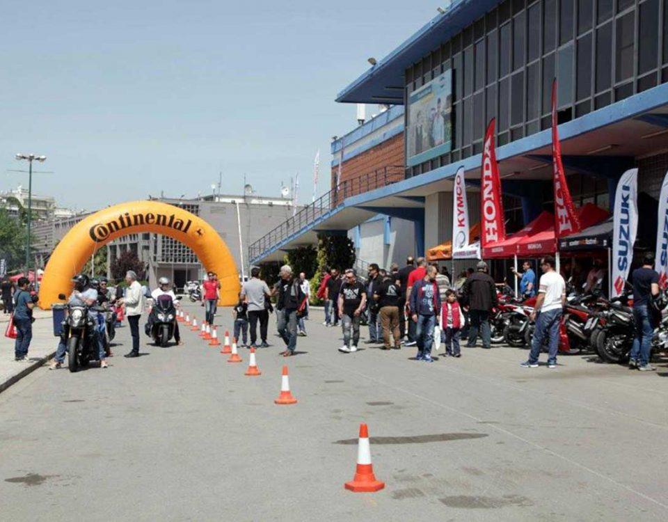 test rides - thessaloniki moto show 2018
