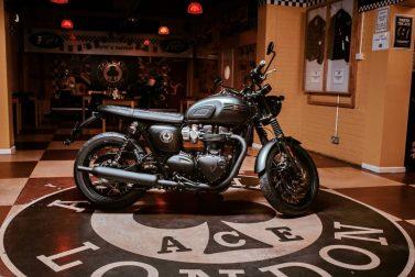TRIUMPH BONNEVILLE T120 ACE ημέρες μοτοσυκλέτας 2019