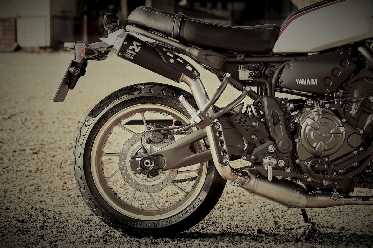 YAMAHA XSR700 XTribute στις ημέρες μοτοσυκλέτας 2019