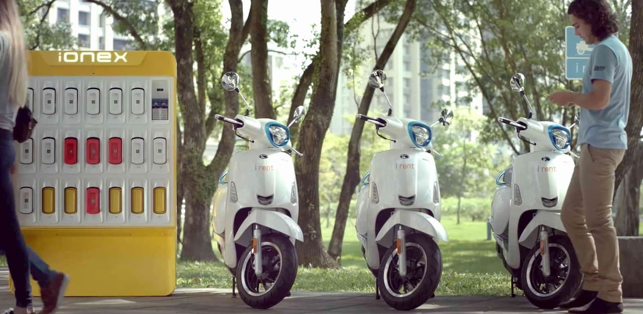 KYMCO iONEX στο Scooter Festival & Electric Bike Show 2019